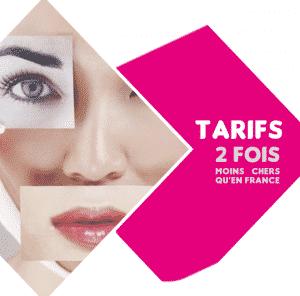 Tarif chirurgie reparatrice Tunisie
